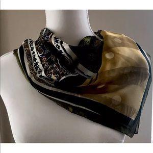 Adrienne Vittadini silk scarf
